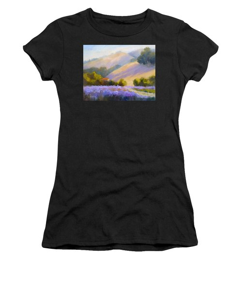 Late June Hills And Lavender Women's T-Shirt