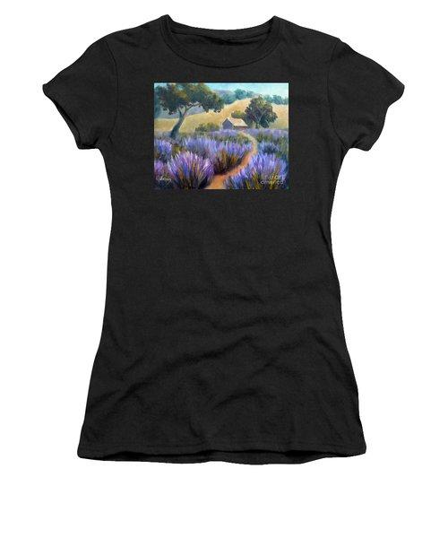 Lavender Path Women's T-Shirt
