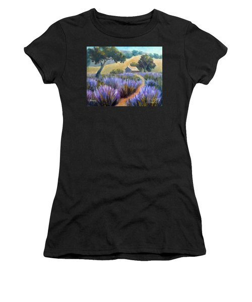 Lavender Path Women's T-Shirt