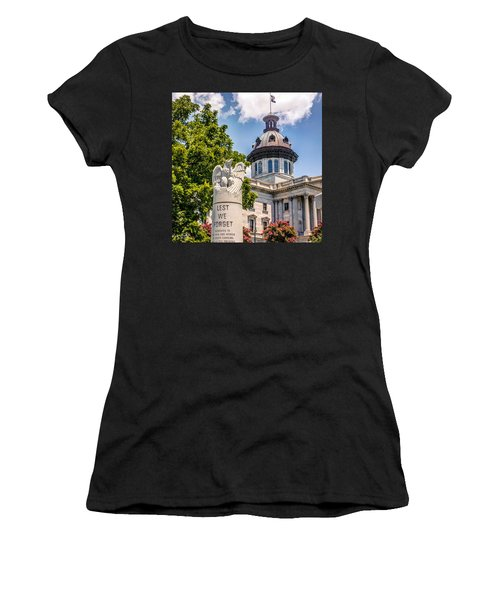 Women's T-Shirt (Junior Cut) featuring the photograph Law Enforcement Memorial by Rob Sellers