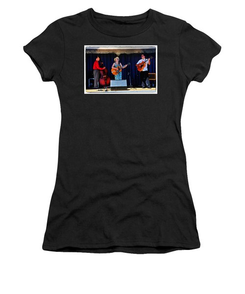 Women's T-Shirt (Junior Cut) featuring the photograph Leah And Her J Walkers by Mike Martin