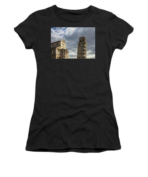 Leaning Tower And Duomo Di Pisa Women's T-Shirt