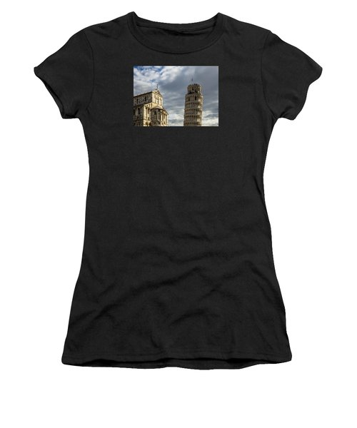 Leaning Tower And Duomo Di Pisa Women's T-Shirt