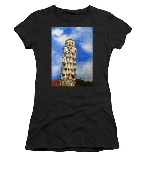 Leaning Tower Of Pisa Women's T-Shirt