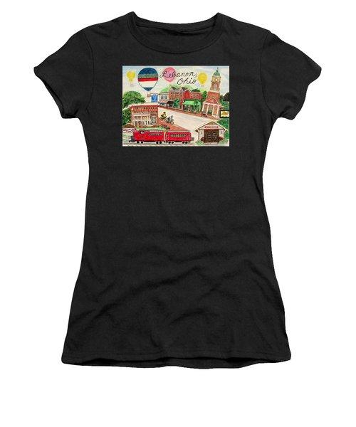 Lebanon Ohio Women's T-Shirt (Athletic Fit)