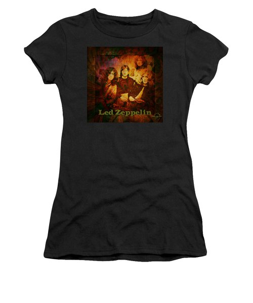 Led Zeppelin - Kashmir Women's T-Shirt (Athletic Fit)