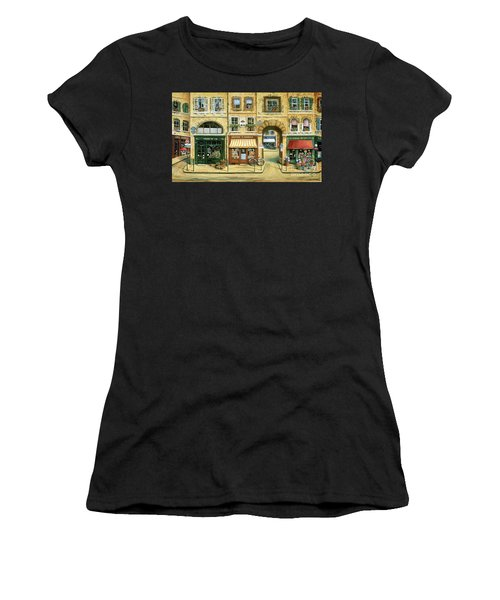 Les Rues De Paris Women's T-Shirt