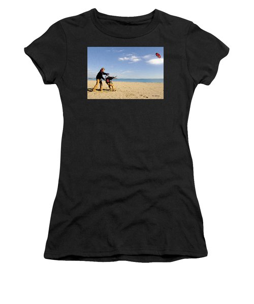 Let's Go Fly A Kite Women's T-Shirt