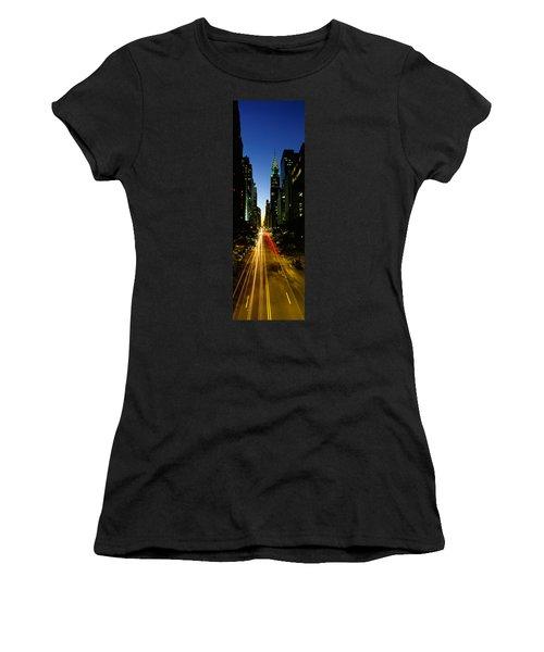 Lexington Avenue, Cityscape, Nyc, New Women's T-Shirt (Junior Cut) by Panoramic Images
