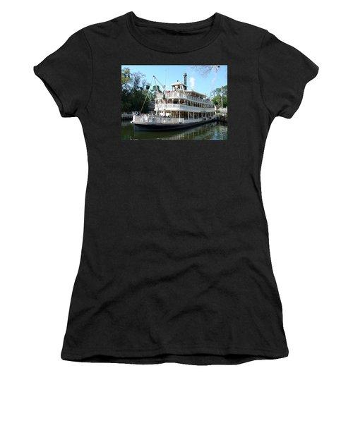 Women's T-Shirt (Junior Cut) featuring the photograph Liberty Riverboat by David Nicholls