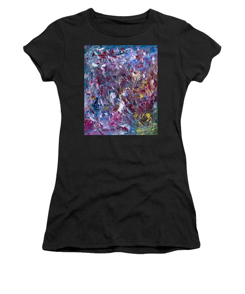 A Thousand And One Paintings Women's T-Shirt (Athletic Fit)