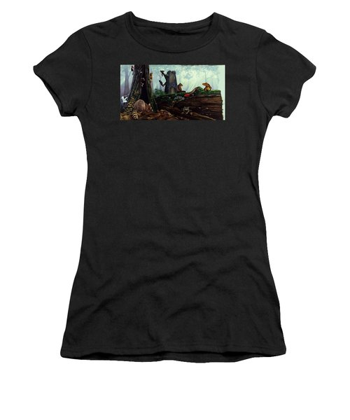Life In A Dead Tree Women's T-Shirt (Athletic Fit)