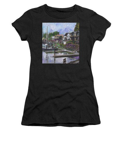 Alameda Life On The Estuary Women's T-Shirt (Athletic Fit)