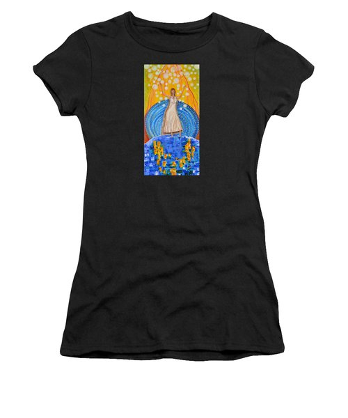 Lifting The Veil Women's T-Shirt (Athletic Fit)