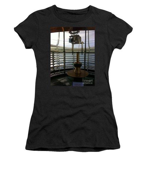 Light House Lamp Women's T-Shirt (Junior Cut) by Susan Garren