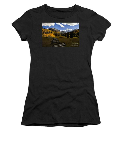 Light In The Valley Women's T-Shirt (Athletic Fit)