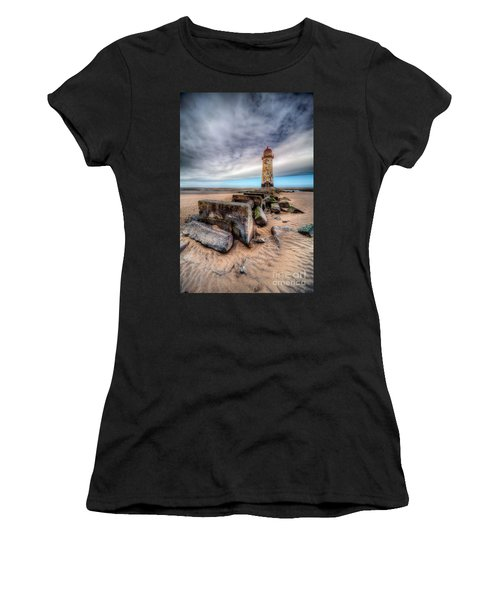 Lighthouse At Talacre  Women's T-Shirt (Athletic Fit)