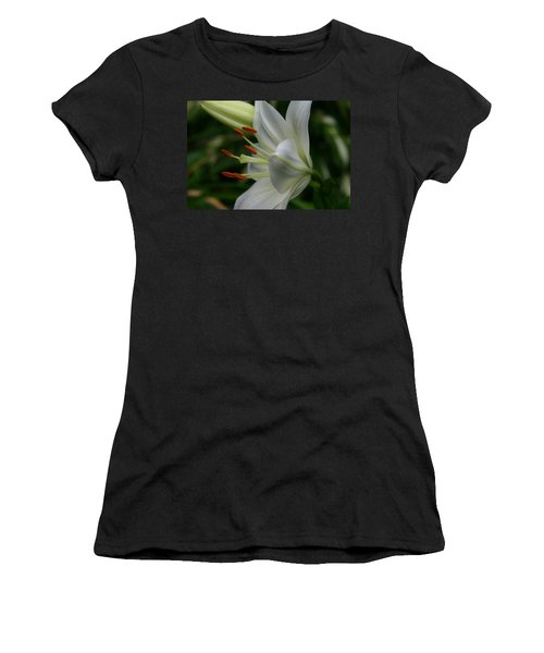 Women's T-Shirt (Junior Cut) featuring the photograph Lily Pure by Denyse Duhaime