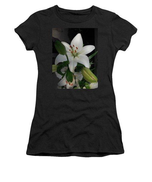 Lily White Women's T-Shirt
