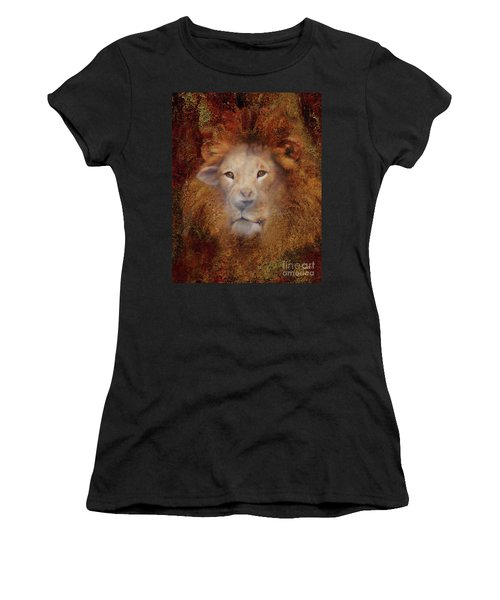 Lion Lamb Face Women's T-Shirt