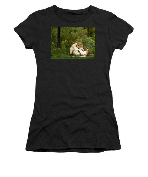 Lions In Love Women's T-Shirt