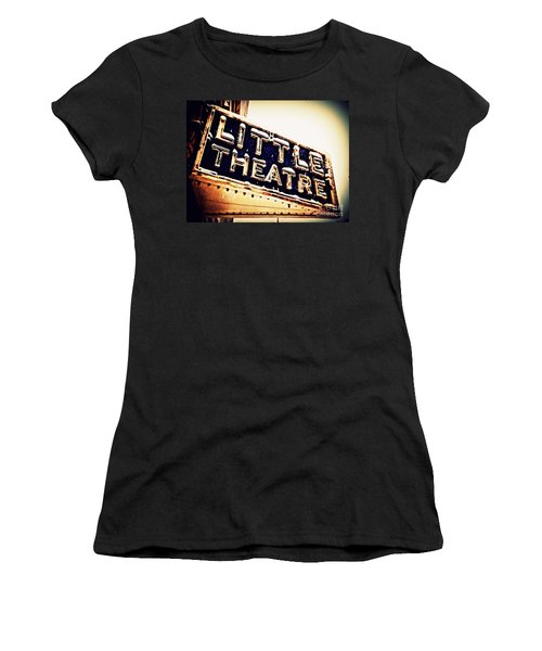 Little Theatre Retro Women's T-Shirt (Athletic Fit)