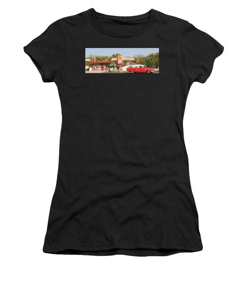 Living In The Fifties Women's T-Shirt (Athletic Fit)