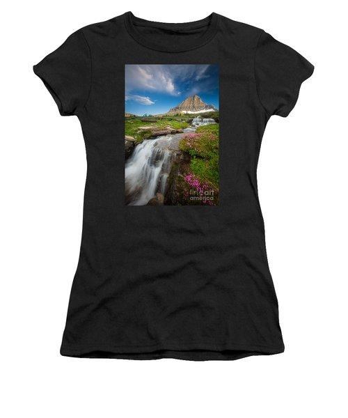 Logan Pass Cascades Women's T-Shirt