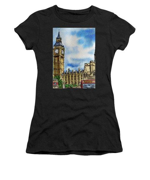 London England Big Ben Women's T-Shirt