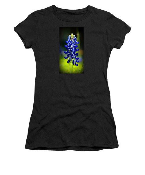 Lone Star Bluebonnet Women's T-Shirt (Athletic Fit)
