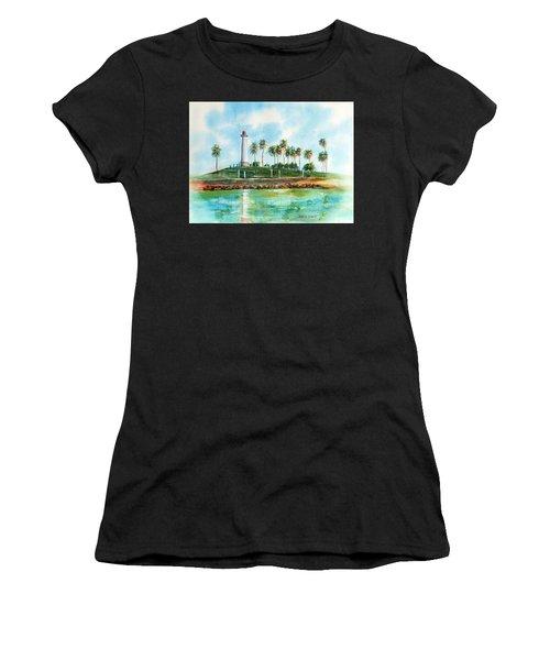 Long Beach Lighthouse  Version 2 Women's T-Shirt