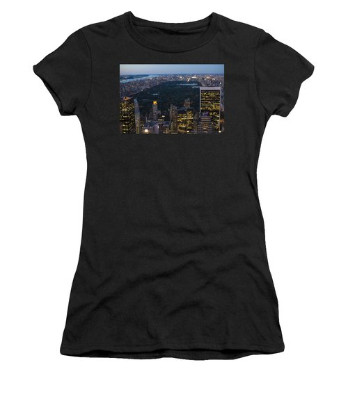 Looking From Top Of The Rock Women's T-Shirt