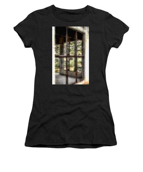 Looking Through The Window By Diana Sainz Women's T-Shirt