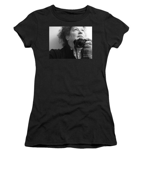 Looking Up - B/w Women's T-Shirt