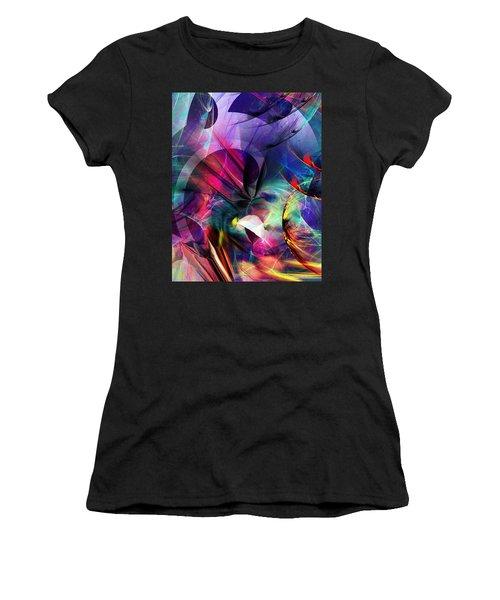 Lost In Hyperspace Women's T-Shirt (Junior Cut) by David Lane