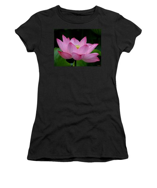 Lotus-center Of Being IIi Dl033 Women's T-Shirt (Athletic Fit)