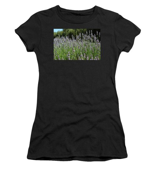 Lovely Lavender Women's T-Shirt (Athletic Fit)