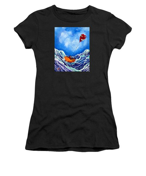 Love's Castaway Women's T-Shirt (Athletic Fit)
