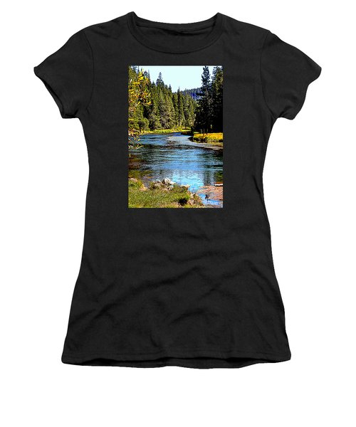 Lower Truckee River Women's T-Shirt (Athletic Fit)