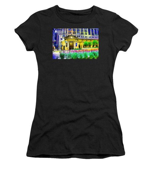 Lyric Opera House Of Chicago Women's T-Shirt (Athletic Fit)