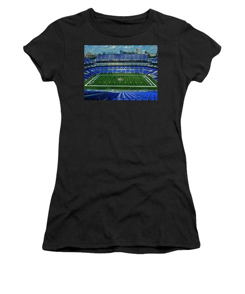 M And T Bank Stadium Women's T-Shirt (Athletic Fit)