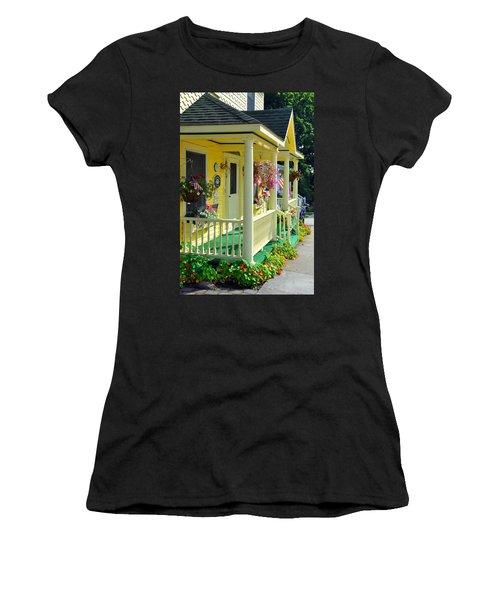 Mackinac Island Americana Women's T-Shirt (Athletic Fit)