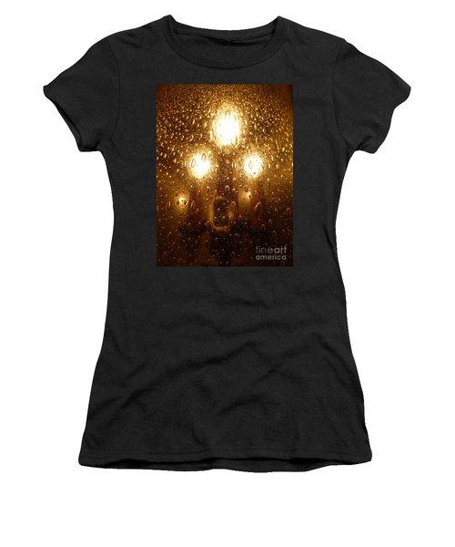 Macro Lights Women's T-Shirt (Athletic Fit)
