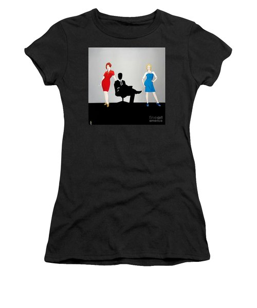 Mad Men In Technicolor Women's T-Shirt (Athletic Fit)