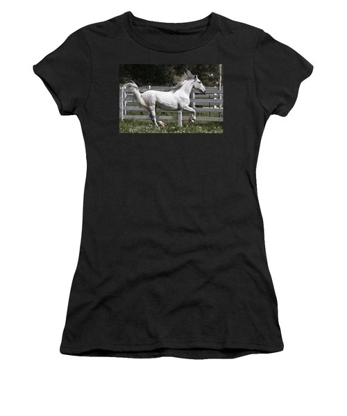 Women's T-Shirt (Junior Cut) featuring the photograph Maestoso Aurorra D3990 by Wes and Dotty Weber