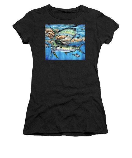 Magical Mahi Mahi Sargassum Women's T-Shirt