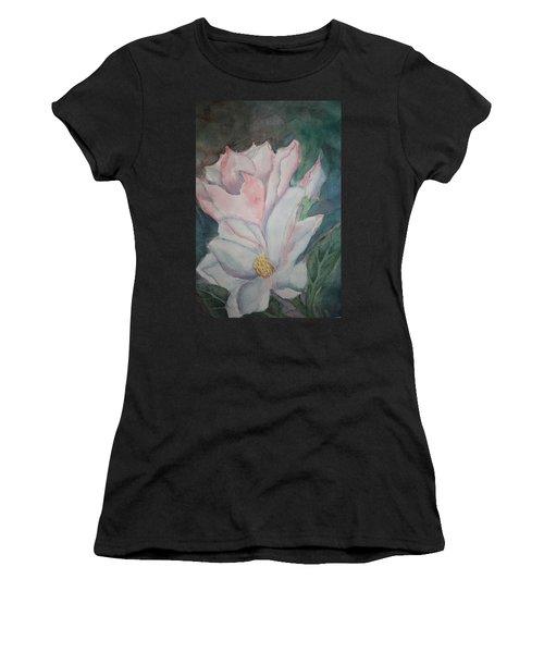Magnolias Women's T-Shirt (Athletic Fit)