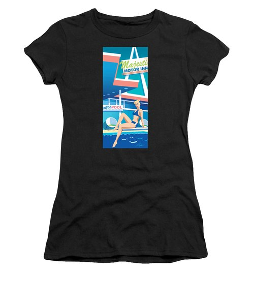 Majestic Women's T-Shirt (Athletic Fit)