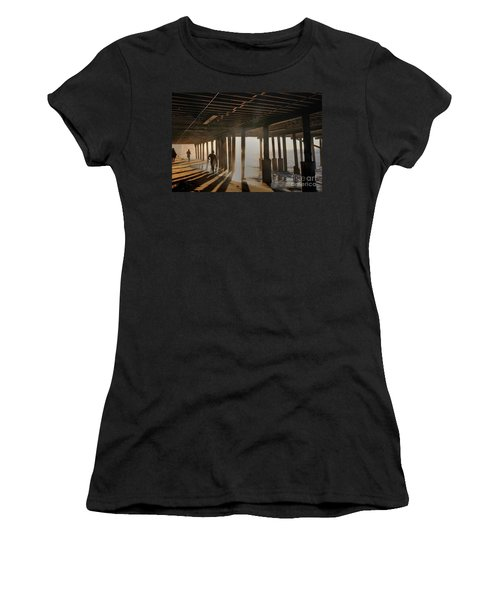 Malibu Pylon Sunrise Women's T-Shirt