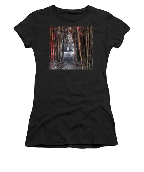 Malice In Wonderland Women's T-Shirt (Athletic Fit)